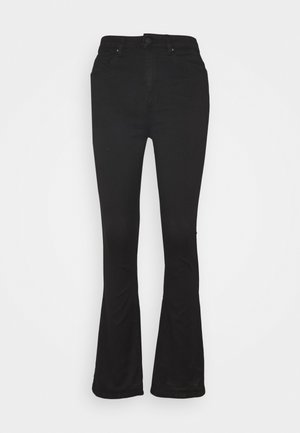 ONLROYAL LIFE - Flared jeans - black