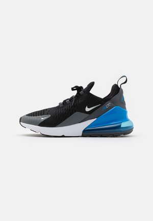 AIR MAX 270 - Trainers - black/metallic silver/light photo blue/dark grey