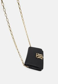 Tommy Hilfiger - LOCK MINI CROSSOVER - Across body bag - black - 3