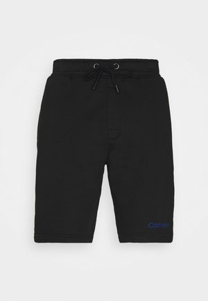RAW EDGE LOUNGE SLEEP - Pyjama bottoms - black