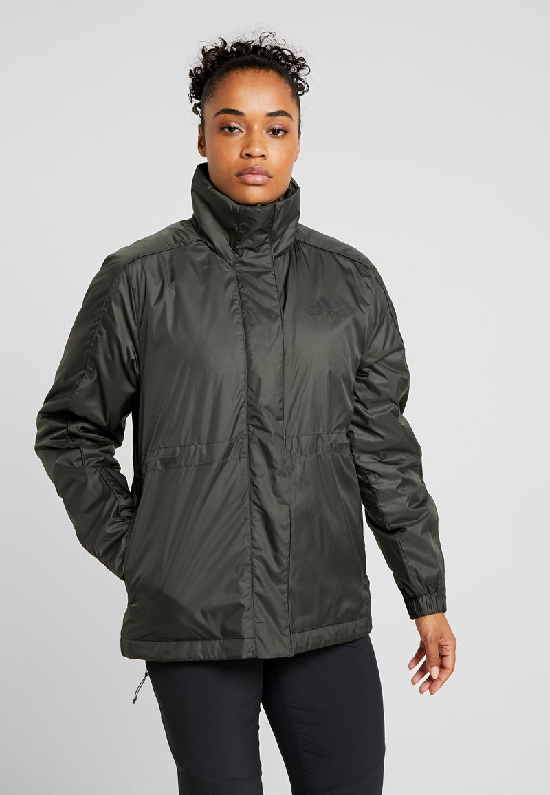 adidas Performance - INSULATED OUTDOOR FILLED THIN JACKET - Kurtka zimowa - legend earth