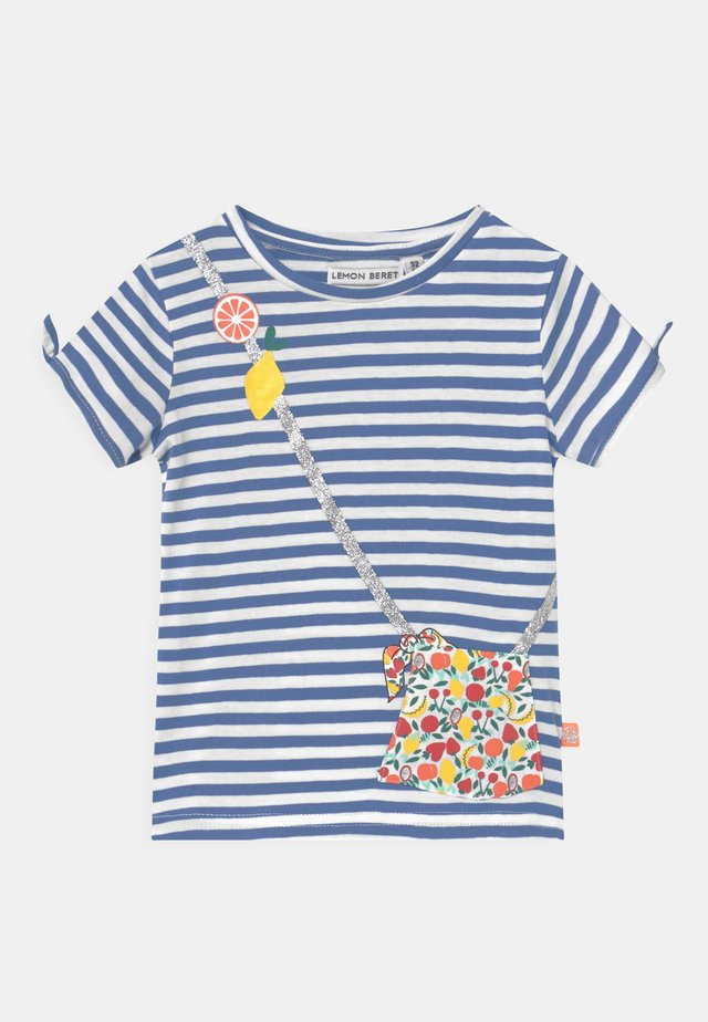 SMALL GIRLS - T-shirts med print - blue yonder