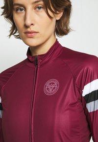 8848 Altitude - CHERIE JACKET LEOPARD - Training jacket - burgundy - 3