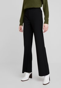 YAS - YASVICCY WIDE PANT - Trousers - black - 0