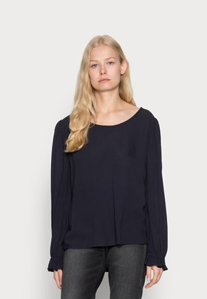 EASY BLOUSE SOLID - Camicetta - navy