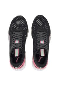 Puma - Trainers - black/ignite pink