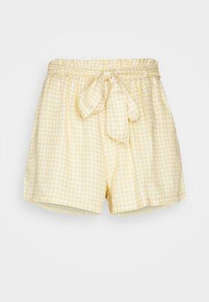 CHAIN SOFT - Shorts - yellow