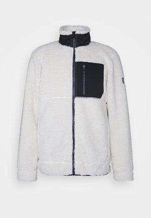GARICK MEN - Fleece jacket - white foam