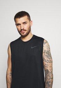 Nike Performance - DRY TANK - Linne - black/dark grey - 3
