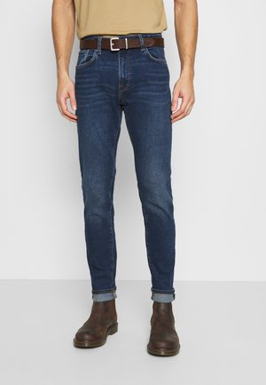 LEON  - Slim fit jeans - dark blue denim
