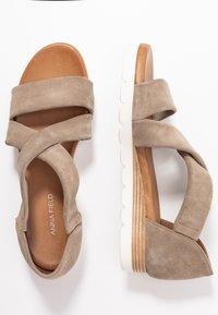 Anna Field - LEATHER  - Platform sandals - beige - 3