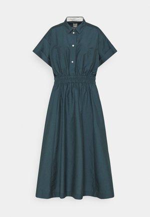 WOMENS DRESS - Košilové šaty - petrol