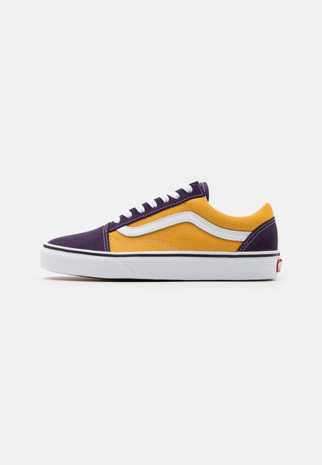 OLD SKOOL UNISEX - Sneakers basse - honey gold/purple