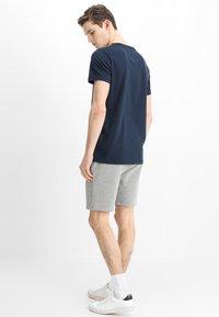 YOURTURN - Teplákové kalhoty - mottled grey - 2