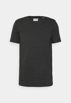 Basic T-shirt - deep black mix