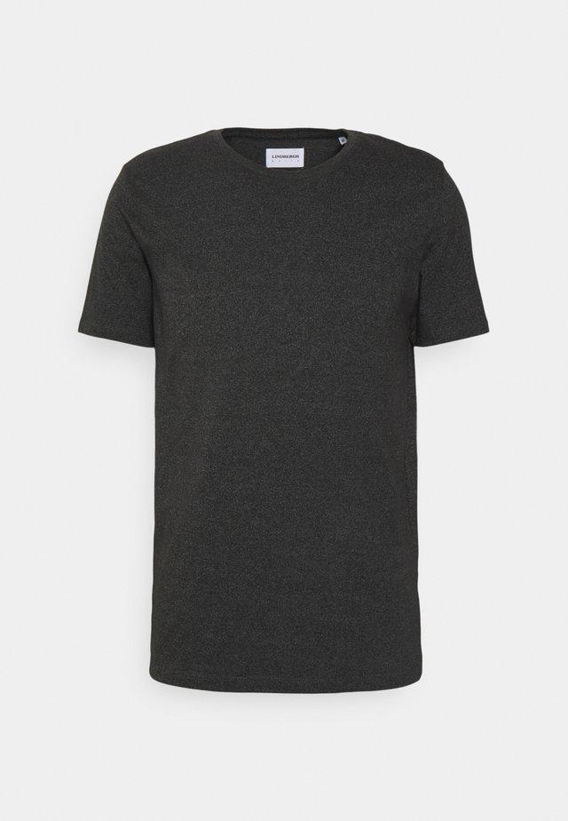 T-shirt basic - deep black mix