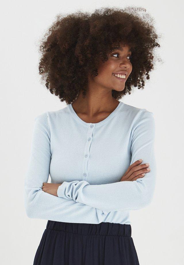 MAFA O CA NOOS - Vest - cashmere blue