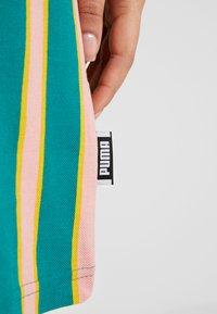 Puma - DOWNTOWN STRIPE DRESS - Sukienka letnia - teal green - 5