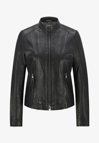 C_SABELLA - Leather jacket - black
