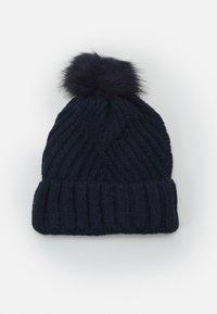 Marks & Spencer London - GEO BOBBLE HAT - Beanie - navy - 1