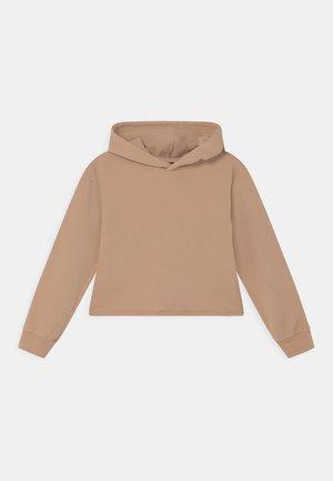 GIRLS BOXY HOODIE - Sweatshirt - beige reactive