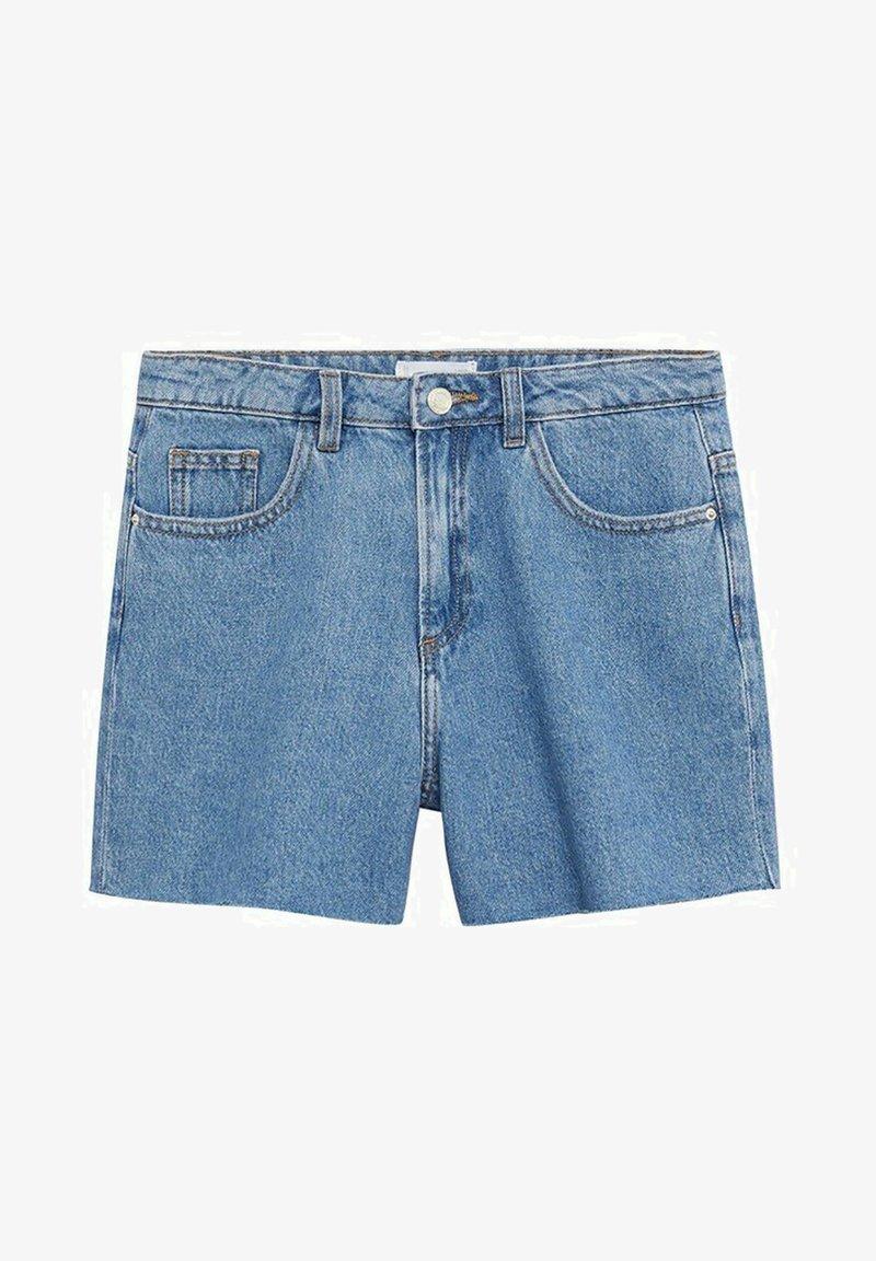 Mango - LAUREN - Jeansshort - średni niebieski