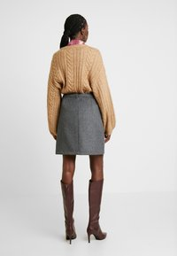 Esprit Collection - SKIRT - Minisukně - dark grey - 2