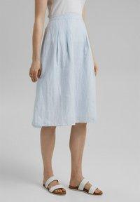 Esprit - A-line skirt - light blue - 0