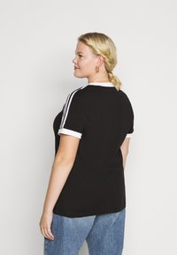 adidas Originals - TEE - Print T-shirt - black/white - 2