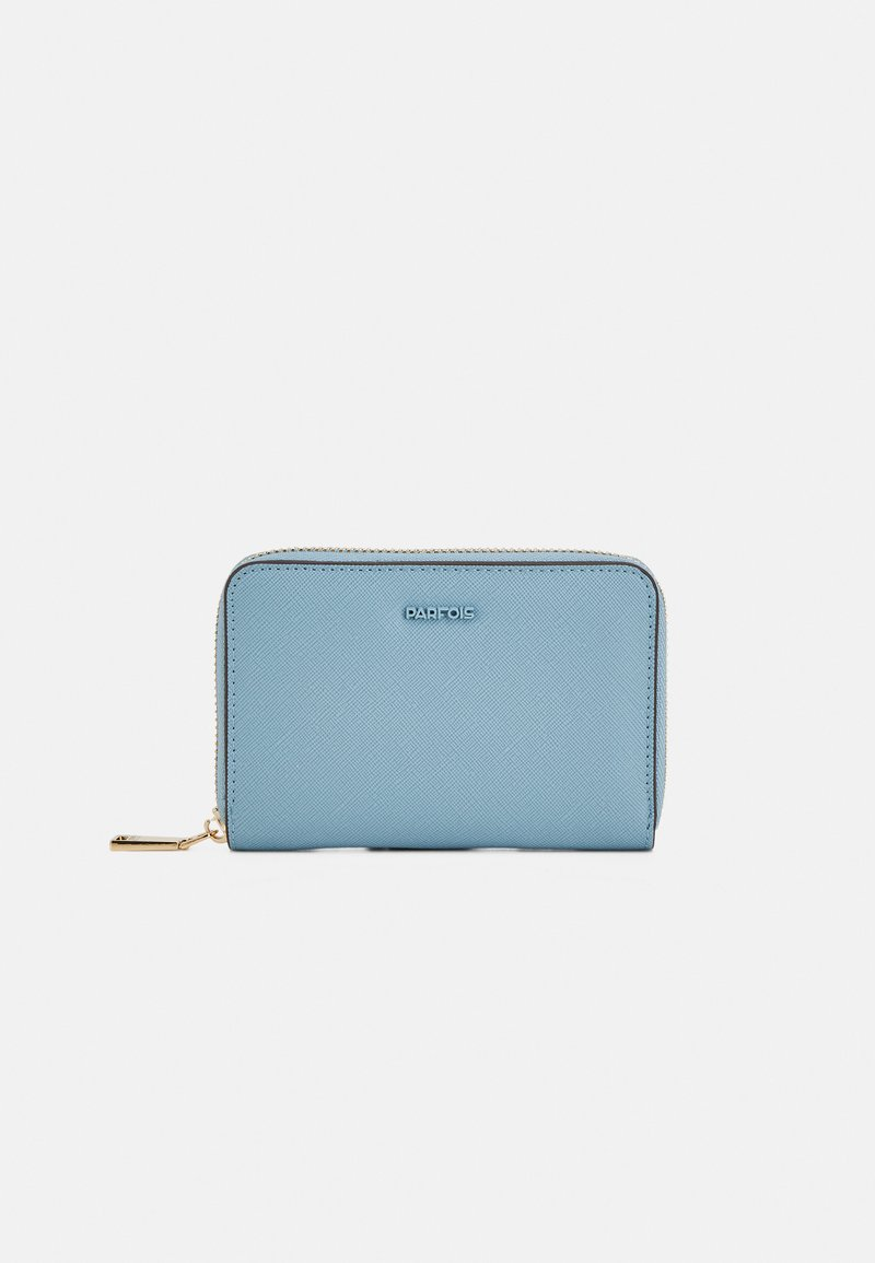 PARFOIS - WALLET BASIC JUNGLE S - Lommebok - blue