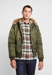 Schott - Light jacket - khaki - 0