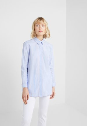 BELLE LOVELY BLOUSE - Button-down blouse - light blue/pink