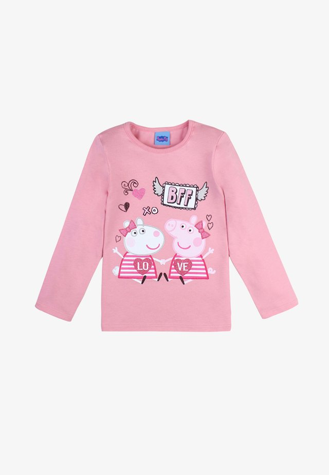 Sweatshirt - sea pink