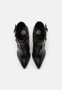 San Marina - VOTELLA - High heeled ankle boots - noir - 5