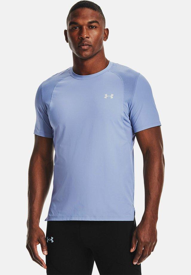CHILL RUN - Print T-shirt - washed blue