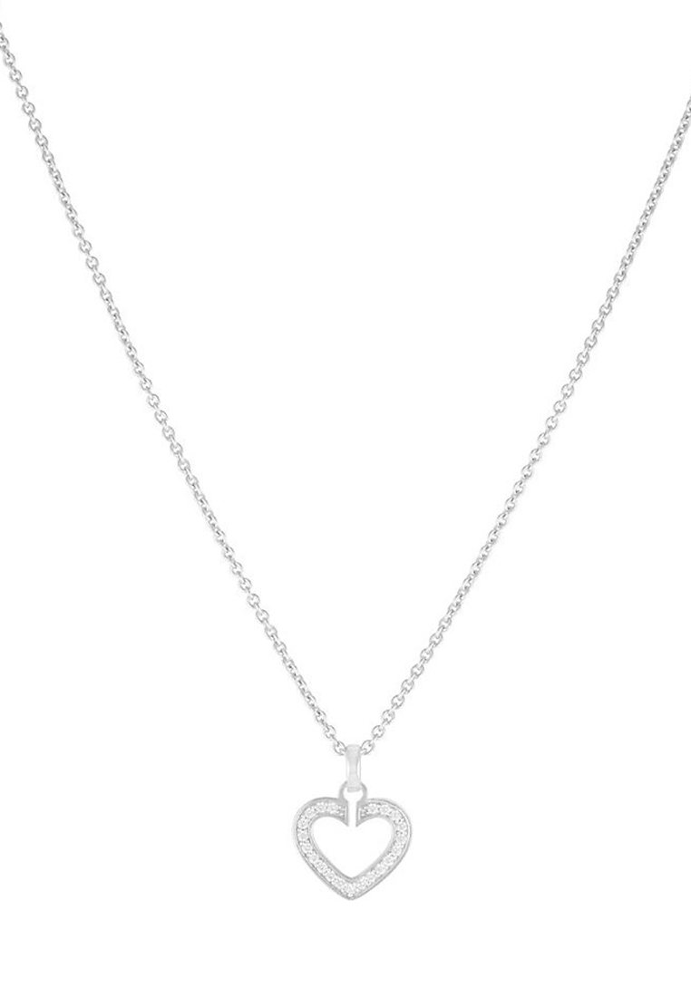Jette Sacred Heart - Halskette Silver-colored/silber