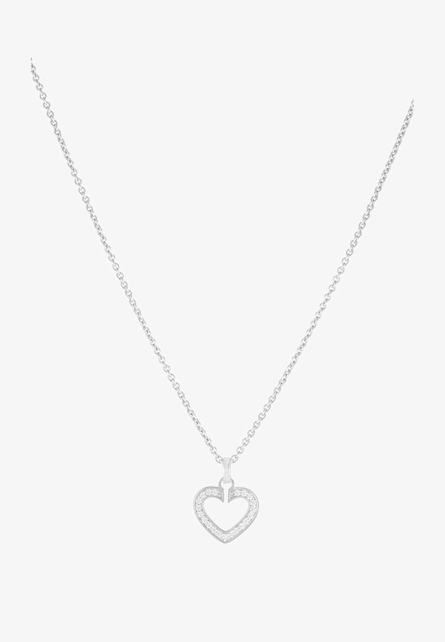 SACRED HEART - Necklace - silver-colored