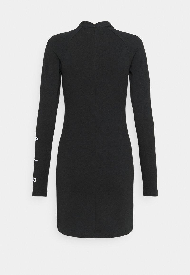 Nike Sportswear AIR DRESS - Jerseykleid - black/schwarz YVMLUu