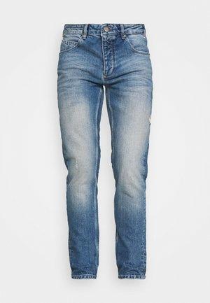REY - Džíny Straight Fit - dark blue denim