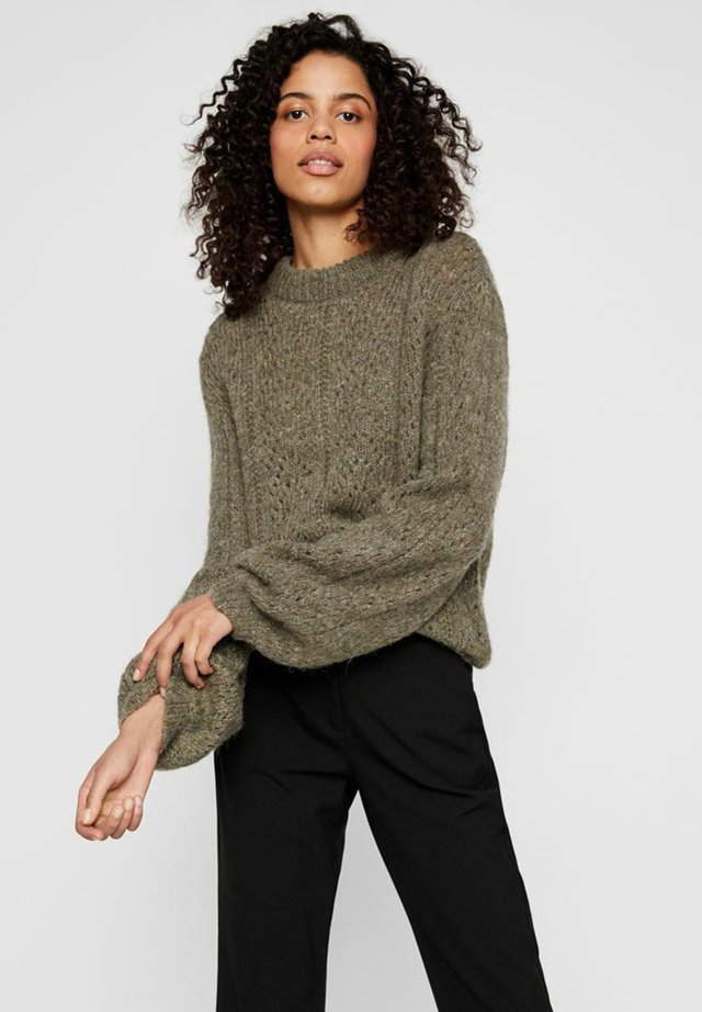 BALLONÄRMEL - Sweter - ermine
