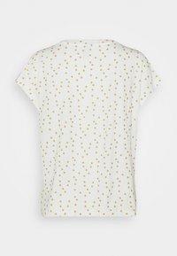 ONLY - ONLMANYA GLITTER V NECK  - Print T-shirt - cloud dancer - 5