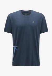 Haglöfs - Print T-shirt - tarn blue - 4