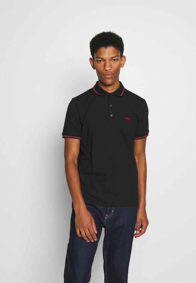 DINOSO - Poloshirts - black