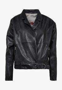 Freaky Nation - LORIANA - Leather jacket - black - 4
