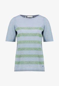 MAERZ Muenchen - RUNDHALS - T-shirt imprimé - clear blue - 4