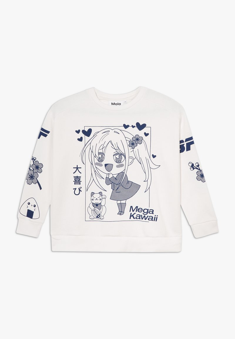 Molo - MANDY - Sweatshirt - white star