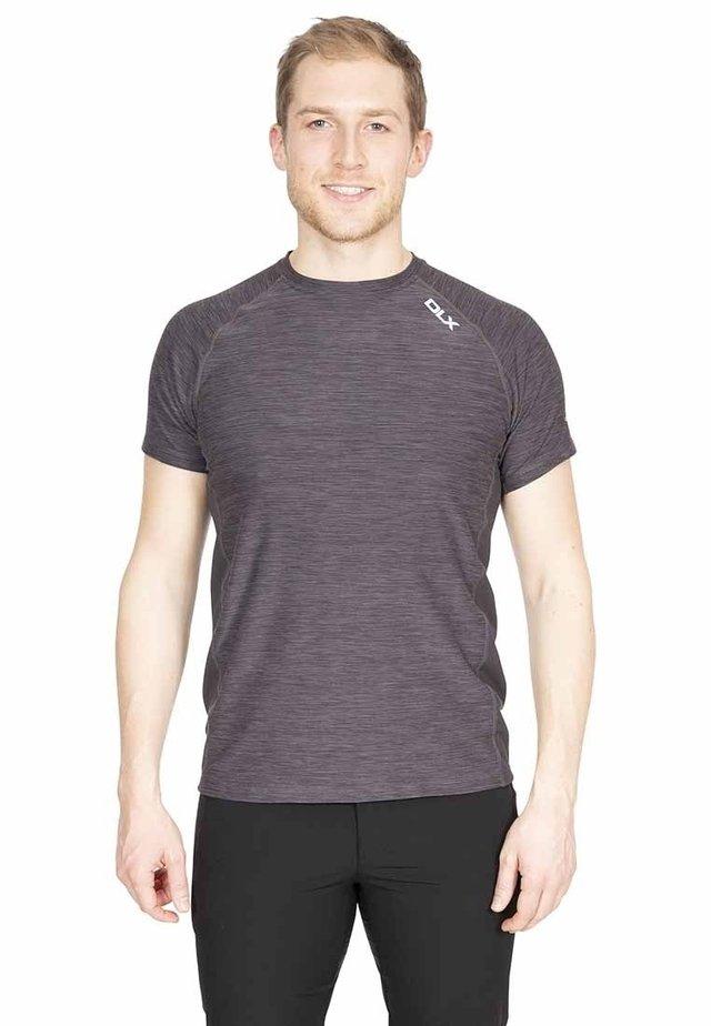 COOPER - Print T-shirt - grey