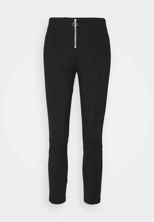 ONLTIA ZIP - Kalhoty - black