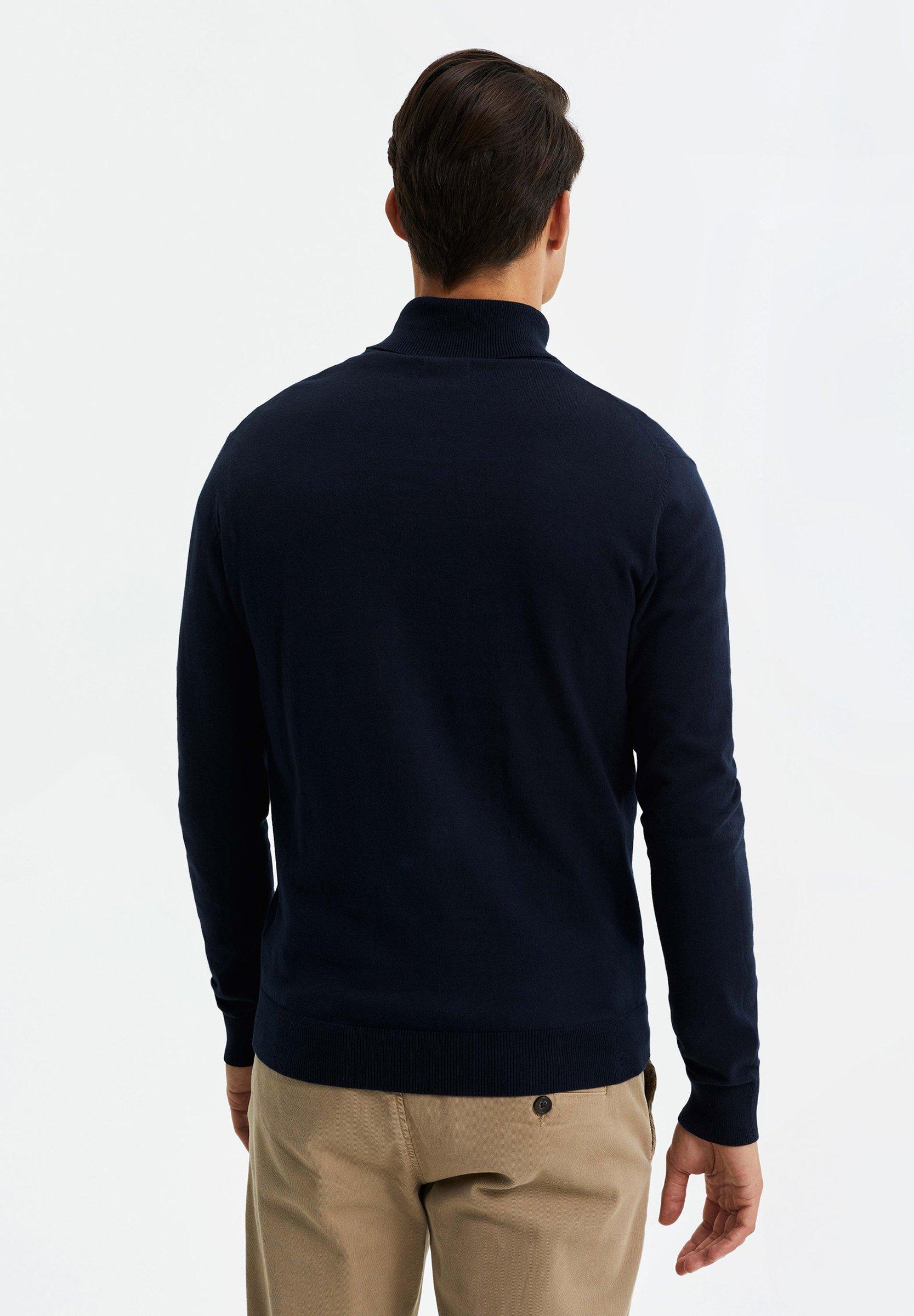 We Fashion Strickpullover - Dark Blue