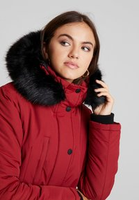 Superdry - ASHLEY EVEREST - Vinterkåpe / -frakk - brick red - 4